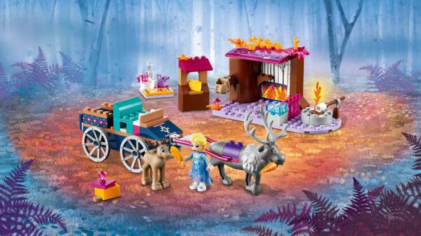 LEGO® Disney Frozen  41166 - L'avventura sul carro di Elsa