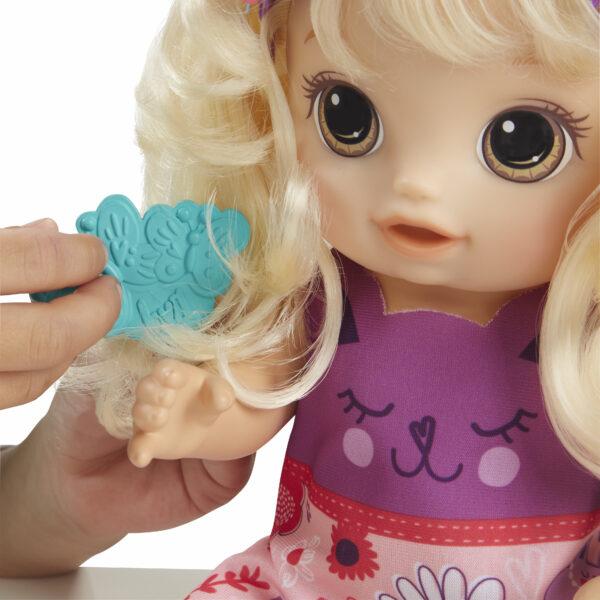 Baby Alive - Magica Frangetta (bambola bionda)