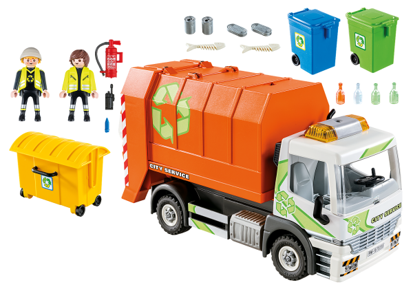 Playmobil Camion Raccolta Differenziata - Costruzioni