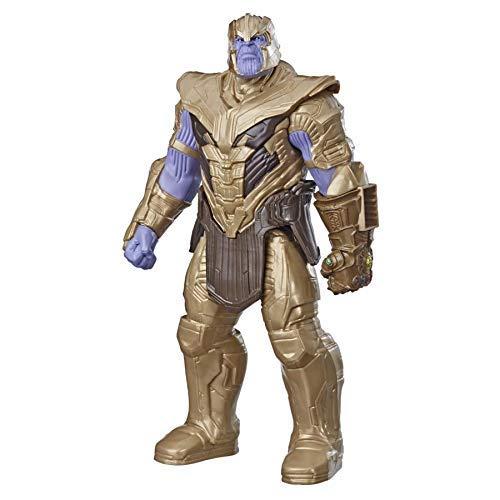 Marvel Avengers: Endgame - Thanos Titan Hero Deluxe compatibile con Power FX