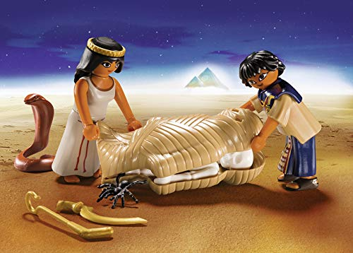 Playmobil 9542 - History Collectable Egyptian Treasure Carry Case Giocattolo, Colore Nylon