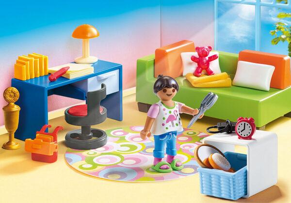 PlayMobil Dolhouse Camera della ragazza