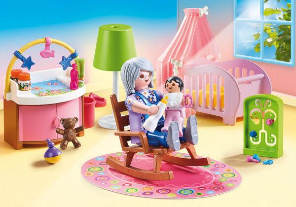 PlayMobil Dolhouse Camera della bambina