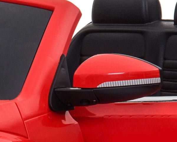 Macchina Elettrica per Bambini 12V Volkswagen Maggiolino New Beetle Rossa