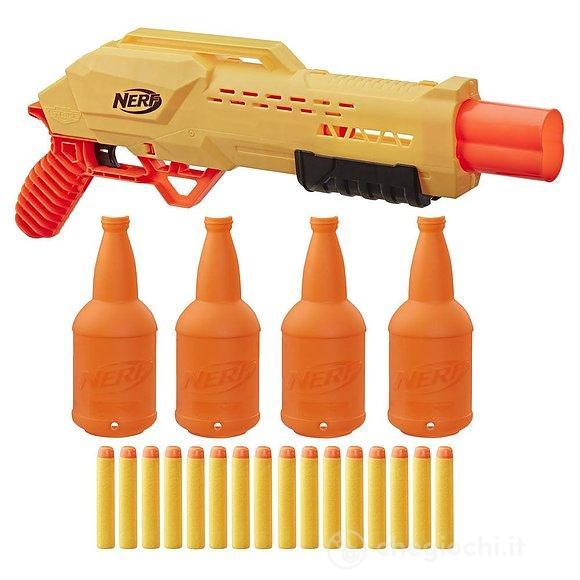 Pistola Nerf Alpha Strike Tiger pack doppio con bersagli