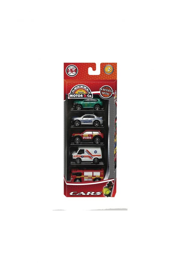 5 AUTO DIE-CAST MOTOR & CO.