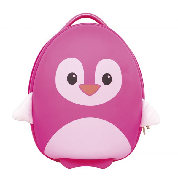 ZAINETTO PINGUINO ROSA - BABY SMILE