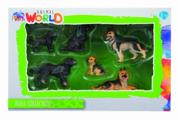 ANIMAL WORLD  SET DOGS COLLECTION