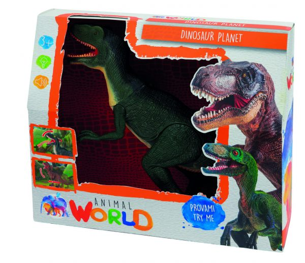 SET DINOSAUR PLANET ANIMAL WORLD