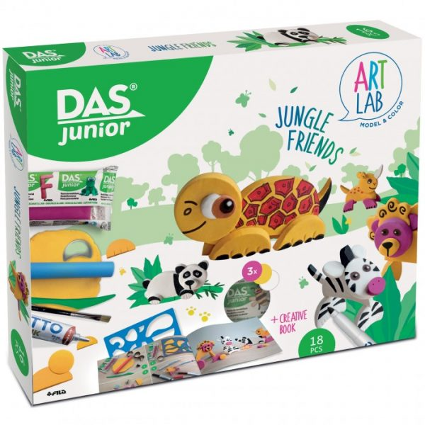 GIOCO CREATIVO DAS JUNIOR ART LAB JUNGLE FRIENDS FILA