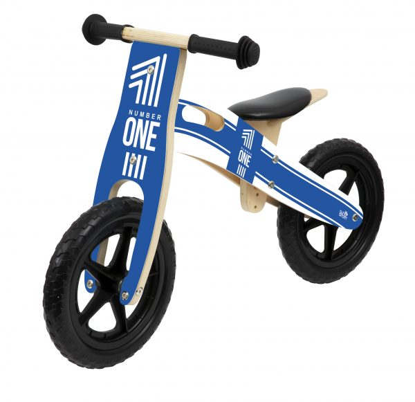 BALANCE BIKE IN LEGNO BOY SUN&SPORT