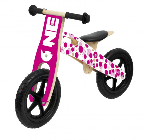 BALANCE BIKE IN LEGNO GIRL SUN&SPORT