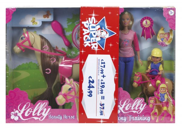 LOLLY BEAUTY HORSE & PONY TRAINING - SUPERSTAR - Fashion dolls