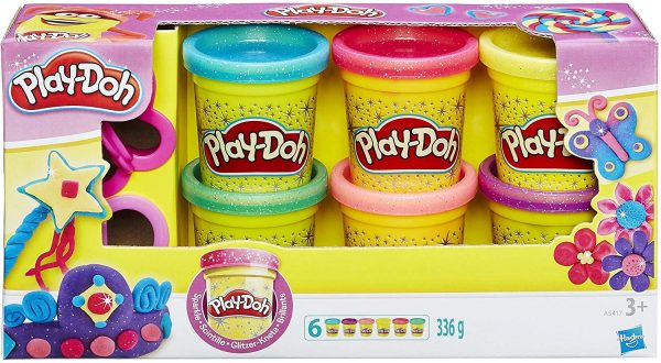 Play Doh GRAMOLATURA - A5417- MODELLIERS PD Glitter
