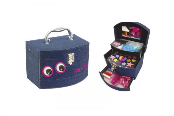 BEAUTY CASE MAKE-UP JEANS MISS FASHION