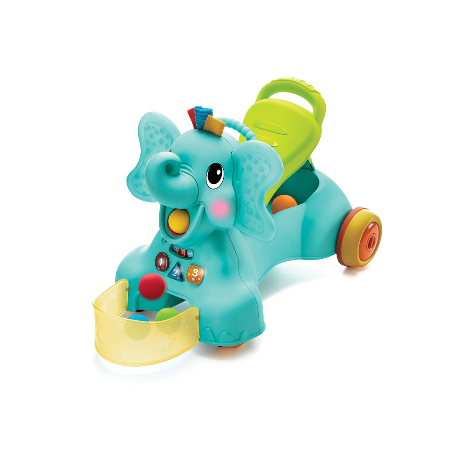 Elefante ride-on 3 in 1 - SUPERSTAR