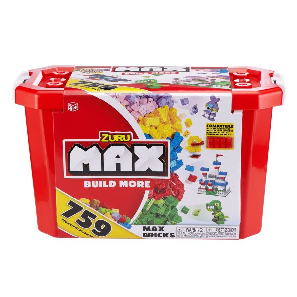 SET COSTRUZIONI MAX BUILD 759PCS