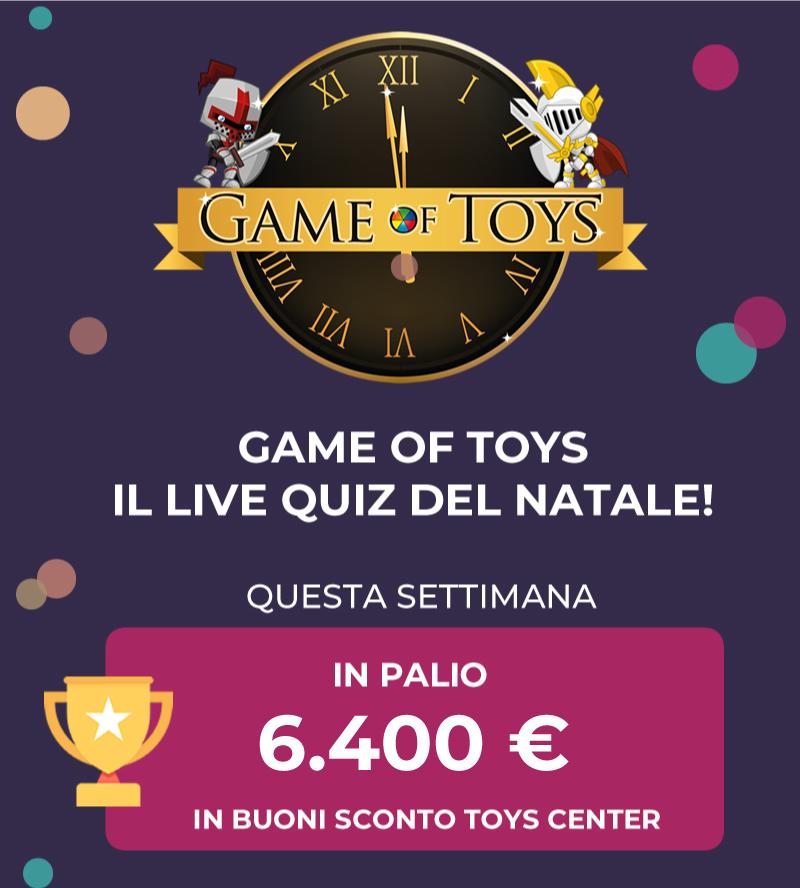 Gioca al live quiz del Natale!
