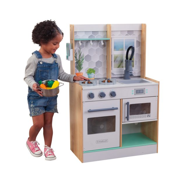 FUNNY HOME  WOODEN PLAY KITCHEN