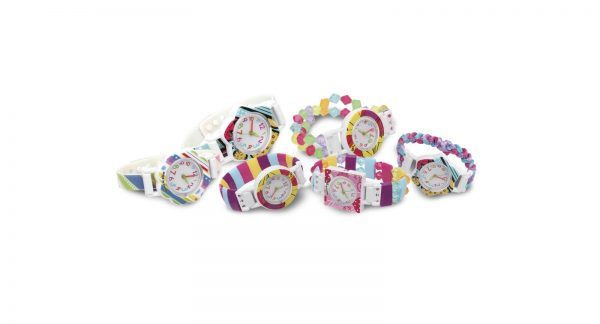 CREA MANIA GIRL   CREA I TUOI OROLOGI - Mix and match POP watch