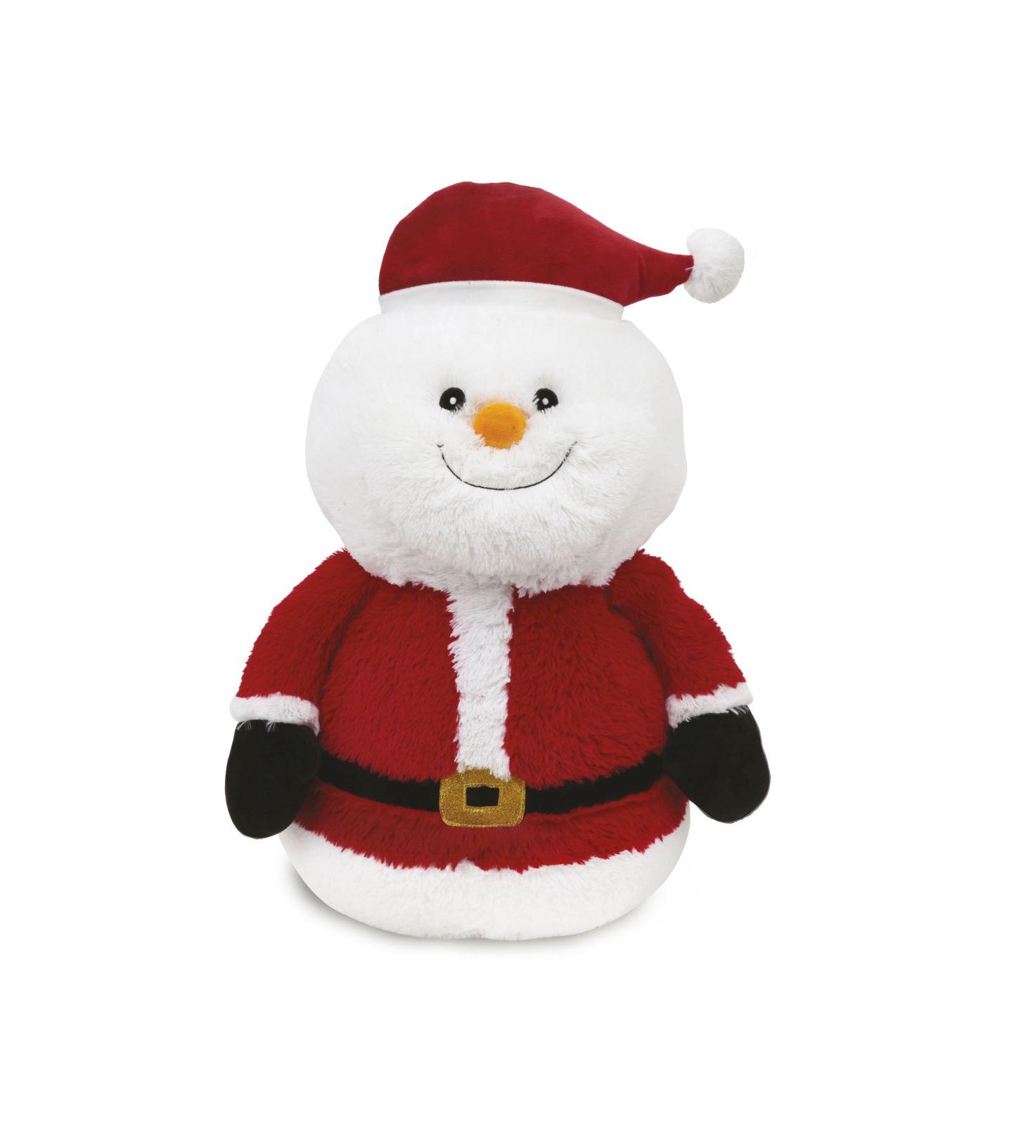 Babbo Natale Peluche.Ami Plush Peluche Pupazzo Di Neve E Babbo Natale Toys Center