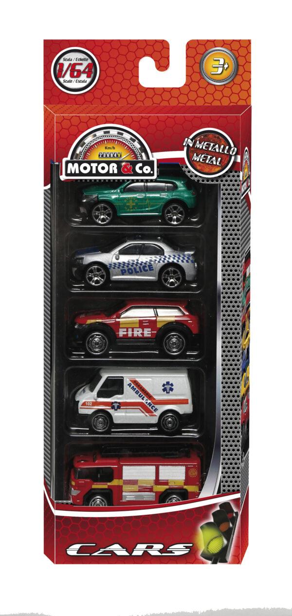 5 AUTO DIE-CAST MOTOR & CO.