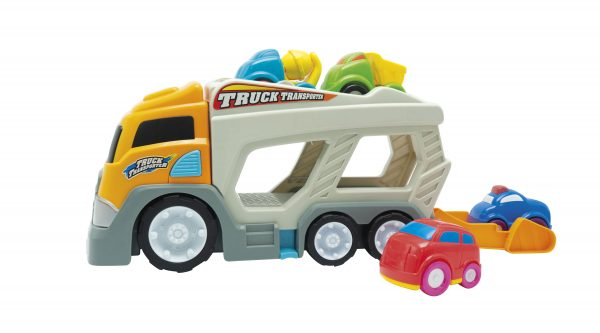 CAMIONCINO TRUCK TRANSPORTER - BABY SMILE