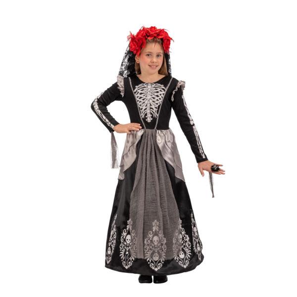 Costume dama infernale tg. V in busta c/gancio