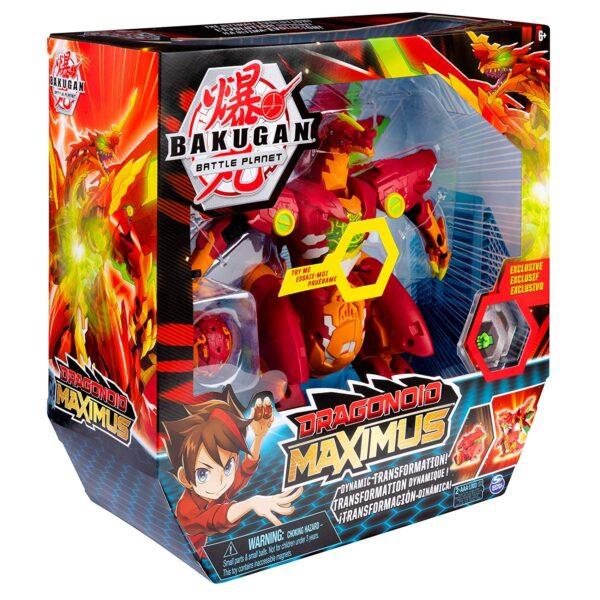 BAKUGAN   BAKUGAN - Dragonoid Maximus