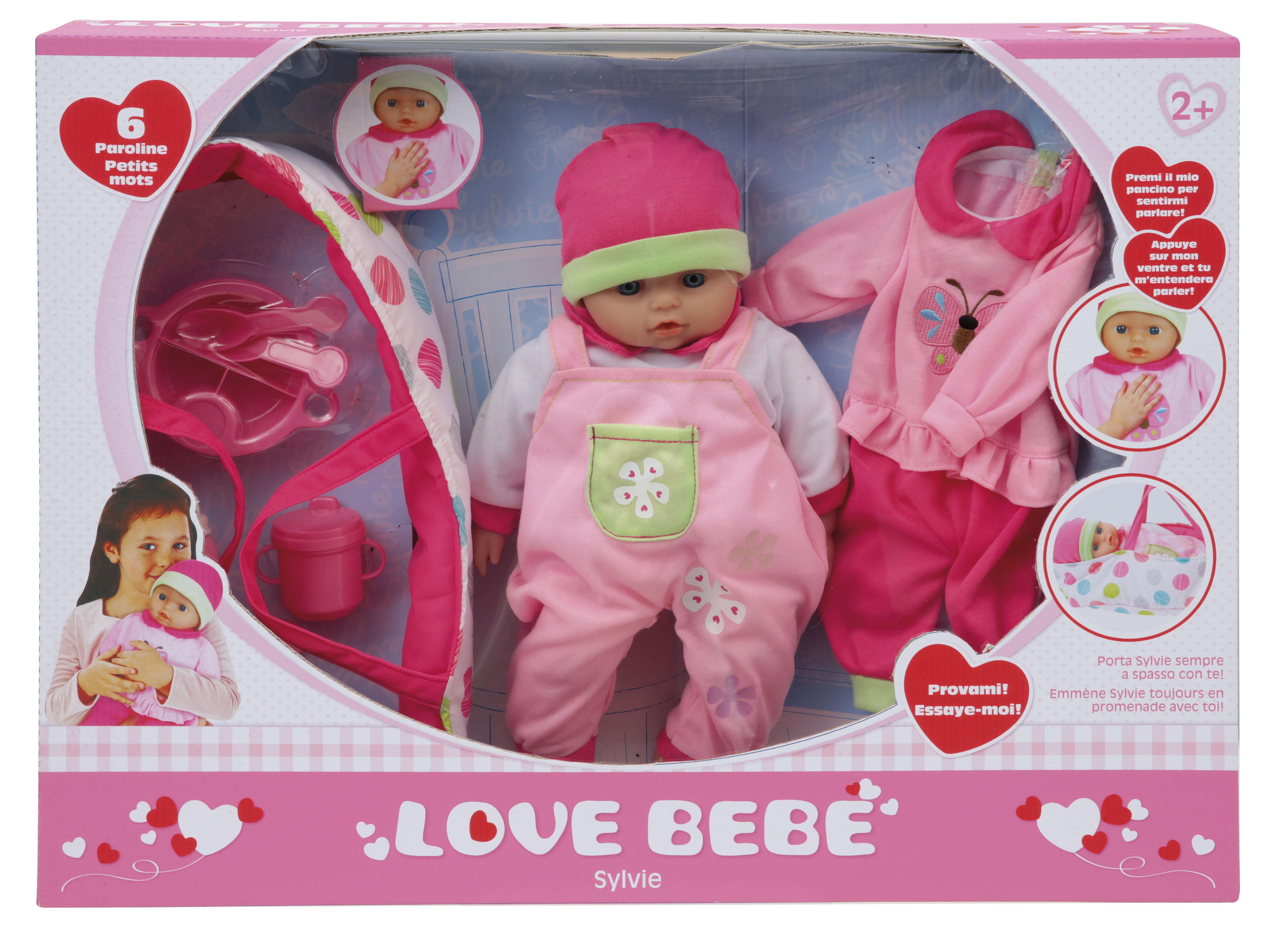 Bambola sylvie - LOVE BEBÈ