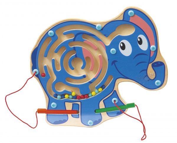 PUZZLE MAGNETICO ELEFANTE WOOD 'N' PLAY