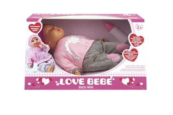 BAMBOLA BABY MILK LOVE BEBÈ