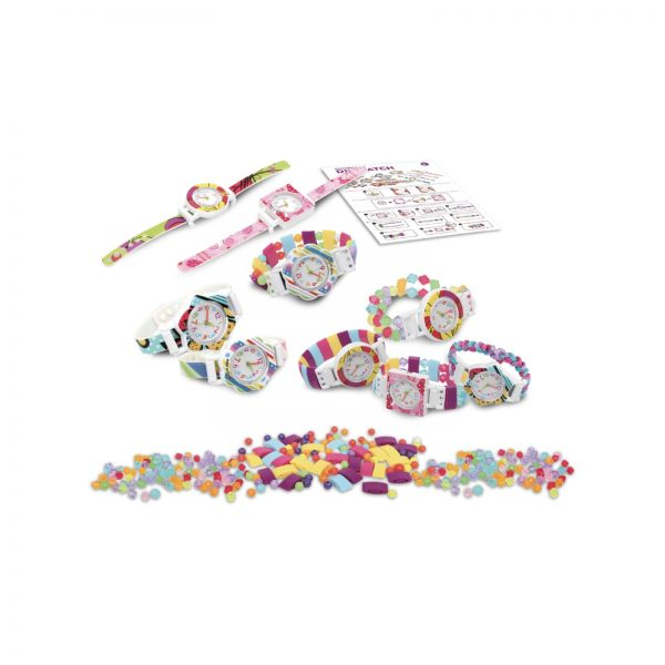 CREA I TUOI OROLOGI - Mix and match POP watch    CREA MANIA GIRL