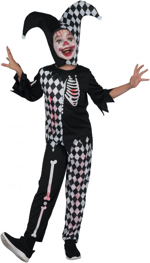 COSTUME HORROR HARLEQUIN BOY