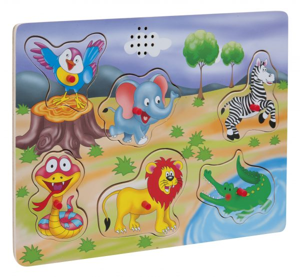WOOD'N PLAY   WOOD'N PLAY Puzzle in legno con suoni