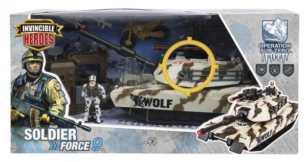 PLAYSET SOLDIERFORCE CARROARMATO SUPERSTAR