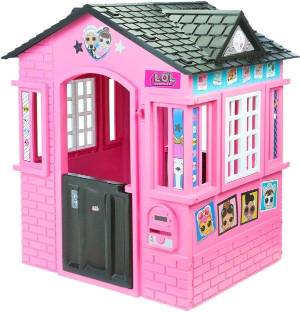 L.O.L Surprise Cottage Casetta, Nero/Rosa
