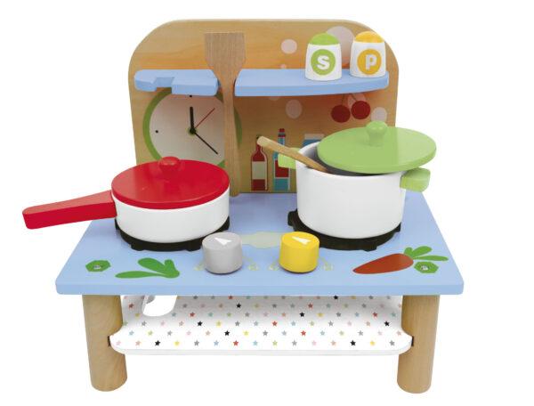 CUCINA SET IN LEGNO - WOOD 'N' PLAY - Cucine e accessori per cucina