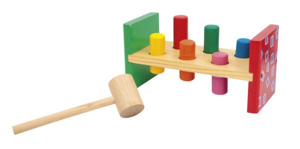 BANCHETTO IN LEGNO - WOOD 'N' PLAY - Altri giochi per l'infanzia