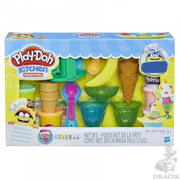 Play-Doh Ice Cream Party