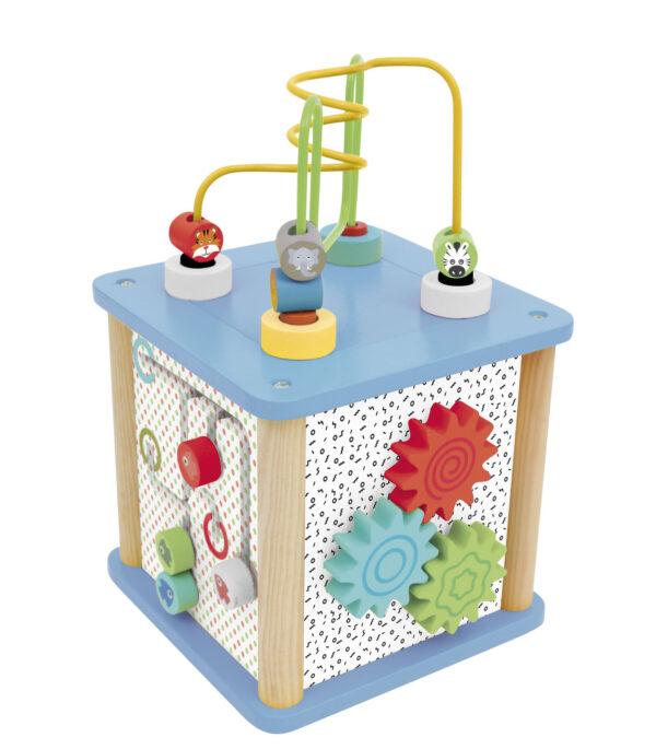CUBO MULTIATTIVITÀ IN LEGNO - WOOD 'N' PLAY - Altri giochi per l'infanzia