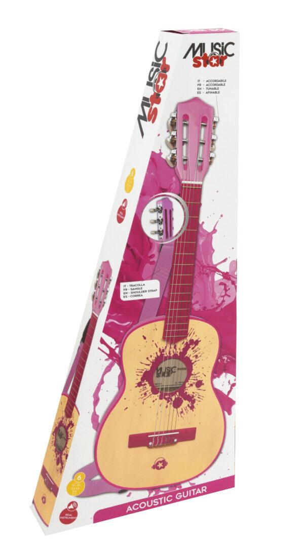 CHITARRA CLASSICA IN LEGNO GIRL 75CM MUSIC STAR
