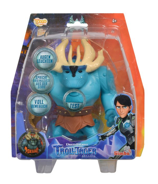 Trollhunter  Draal pers 20 cm parlante con luci