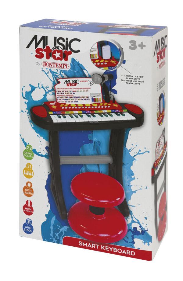 TASTIERA SMART KEYBOARD MUSIC STAR