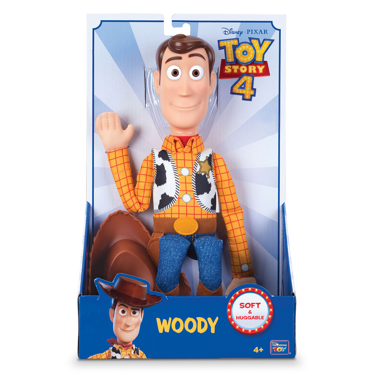 TOY STORY 4 WOODY - Toys Center