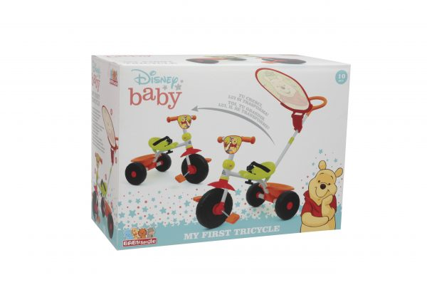 WINNIE THE POOH TRICICLO BABY SMILE