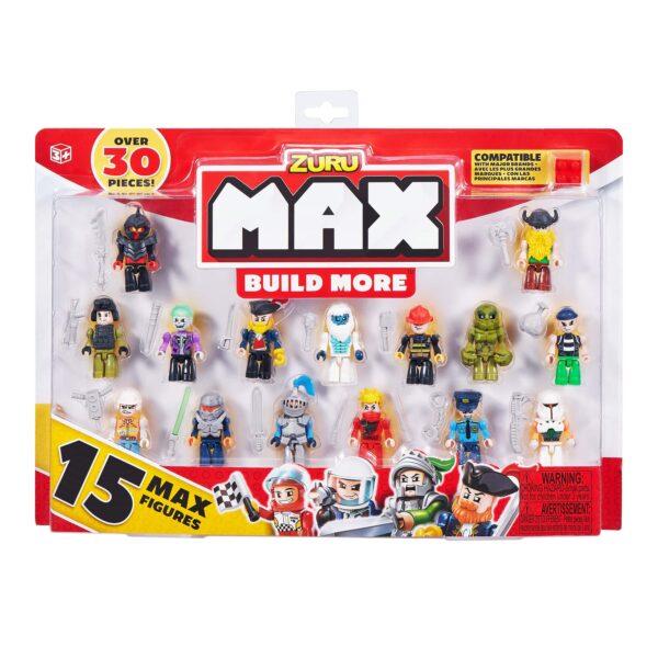 SET COSTRUZIONI MAX BUILD CON 15 PERSONAGGI