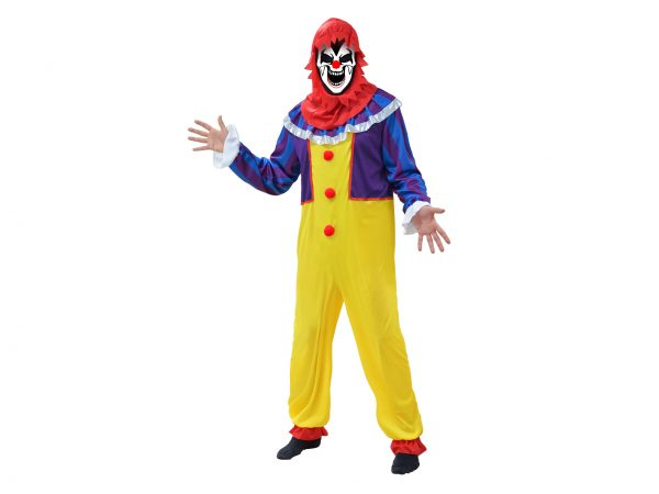 COSTUME HORROR CLOWN XL