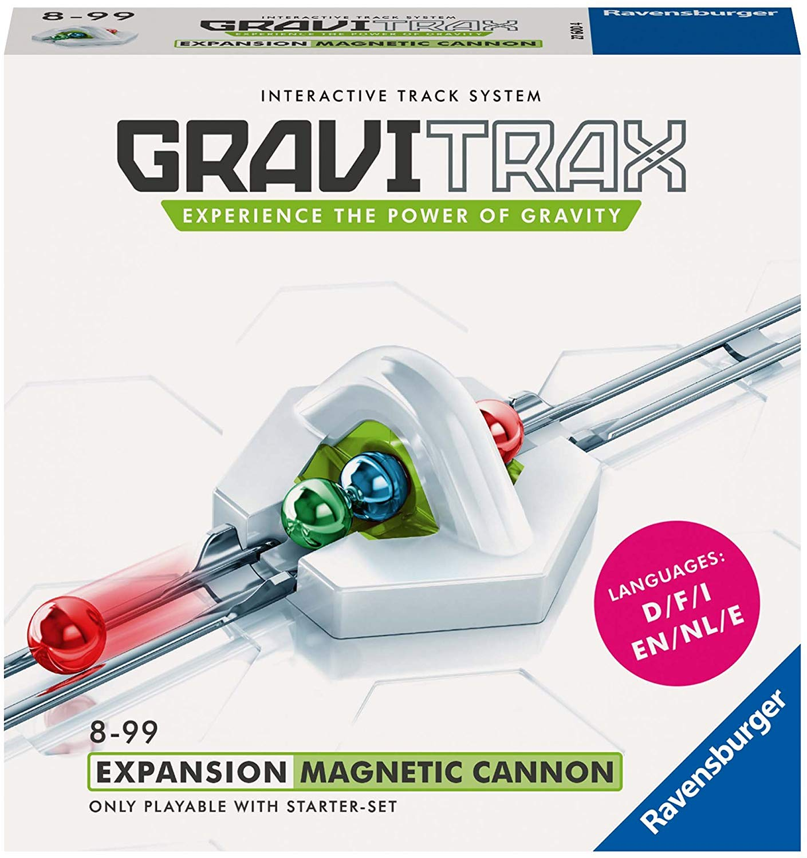 Ravensburger gravitrax magnetic cannon - gioco logico-creativo -