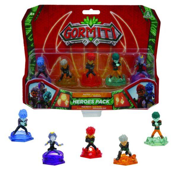 Giochi Preziosi Gormiti, Serie 2, Ultra Heralds, 5 cm